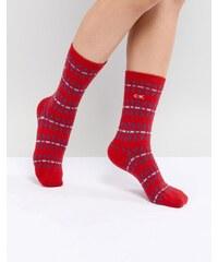 Calvin Klein Holiday Sock Gift Box - Red 6e84b83cfb