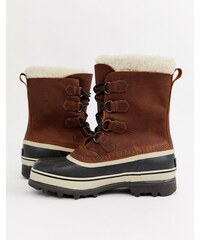 SOREL Caribou premium snow boots in brown - Tan bcc136c3f7