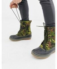 SOREL 1964 premium boots in camo - Green 7874e03ecb