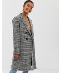 Miss Selfridge tailored coat in check - Check 636fcd02e49