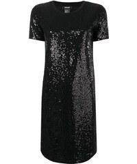DKNY sequinned shift dress - Black 4e9a332ff51