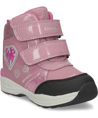 df86a18f578 Geox Růžové dětské sněhule s princeznou