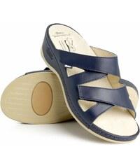 58a03759a847 Zdravotní pantofle BATZ - Evelin blue DÁMSKÉ LETNÍ vel. 36
