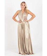 8380843af609 City Goddess Šaty Gold Rain z kolekce Stephanie Pratt