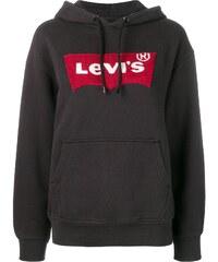 Levi s logo patch hoodie - Black af0b326d7c