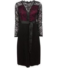 29dbb1e19db9 Made in Italy Šaty krajkové s plisovanou sukní