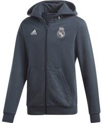 448aebe19f adidas Real Madrid gyerek kapucnis pulóver 19 fullzip onix grey
