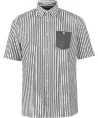 dcd16ce16b3 Pierre Cardin Pierre Cardin Pocket Detail pruhovaný Short rukáv košile  pánské