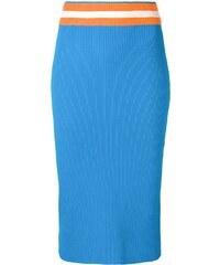 Újdonságok Ingyenes szállítás Kedvezményes kuponok · Calvin Klein midi  pencil skirt - Blue 5dab84bbb3
