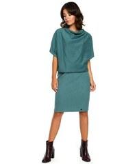 055180bec215 BeWear dámské šaty L XL tyrkysová