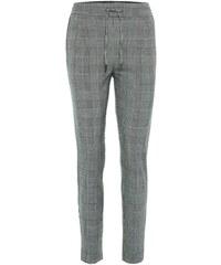 VERO MODA Kalhoty tmavě šedá   bílá 5d126f867d