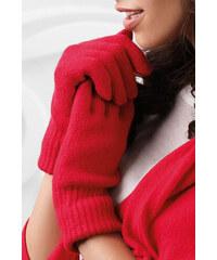Červené 2 dámske rukavice na zimu Kamea 01 bac30e6c59
