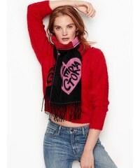 9cd289cffba Victoria s Secret šála Winter Angel Scarlet Buffalo Check Scarf