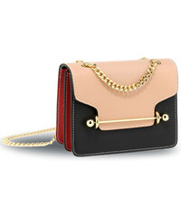 dad2fc4076e Anna Grace Kabelka crossbody Trial Nude Black Red