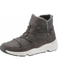 9af59633403d Tom Tailor Zateplené členkové topánky antracitová