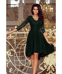 NUMOCO Společenské šaty Nicolle zelené 2d3d929dc3