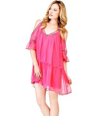 Guess dámské růžové šaty Jessica 094ff0e165