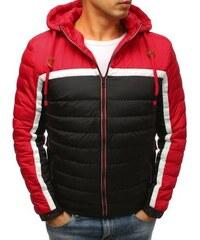 Manstyle Férfi téli kabát steppelt fekete 1bb0d677b9