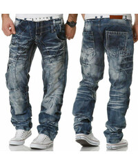 d9dfa4a32f2d KOSMO LUPO nohavice pánske KM040 jeans džínsy