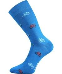 Lonka Modré pánské ponožky JÍZDNÍ KOLA d33ca1086c