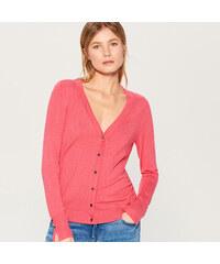 452fb19b0a54 Mohito - Priliehavý sveter so zapínaním na gombíky - Ružová