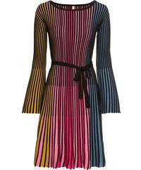 Bonprix Pletené plisované šaty 79b3c842f29