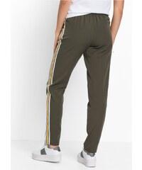 bonprix Kalhoty s kontrastními proužky bc2ec71d68
