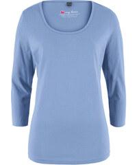 944579f97f7a Modré Dámske tričká s dlhým rukávom