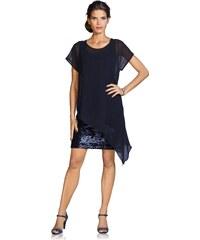 heine Koktejlové šaty indigová modř ef511d36a4d