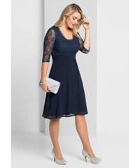 sheego Style Večerné šaty námornícka modrá f108ed63dd