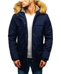 Tmavomodrá pánska zimná bunda BOLF 1820-A - Glami.sk b0800fa8d8c