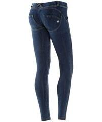 UP Kalhoty džínové tmavě modrá (se žlutými švy) 984cb4aada