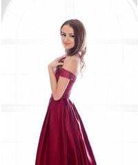 Adria Společenské dlouhé šaty s flitry AURÉLINE 4eda1537e1