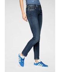 Pepe Jeans Rúrkové džínsy »NEW BROOKE« tmavá-vyšúchaná 3b6e7113a6