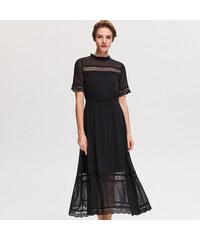 Reserved - Csipkés ruha - Fekete f38f22459c