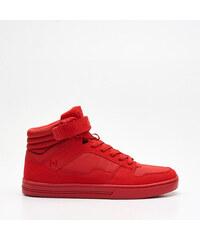 Cropp - Vysoké sneakersy - Červená 6bbb8d58765