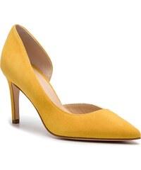 23e51e9407 La Redoute Collections Magassarkú cipő LRD-GDO666_galben Sárga ...