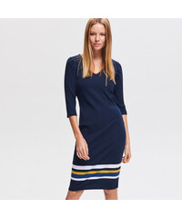 Reserved - Jersey ruha - Tengerészk 89306451f9