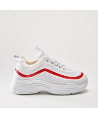 House - Sneakersy na platforme - Biela 43fa3e78c2f