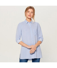 3392be90dc16 Mohito - Košeľa s vyhrnovacími rukávmi - Modrá