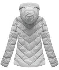 S WEST Dámska sivá zimná bunda B1037-30 0910a9bac3b