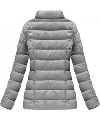 S WEST Sivá zimná bunda B1035-30 1a073a850dc