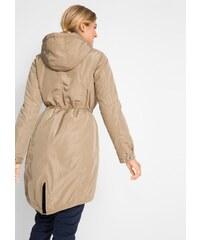 Béžové elegantní dámské bundy a kabáty - Glami.cz 662b6fd0e01