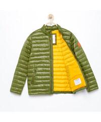 Reserved - Prešívaná bunda so stojačikom - Khaki b891b817493