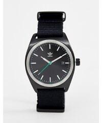 Adidas Z09 Process Canvas Watch In Black - Black 99c9ea49fb
