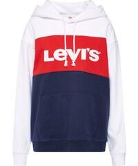 LEVI S Mikina  CB Sportswear  námořnická modř   červená   bílá 9195d4ef5a