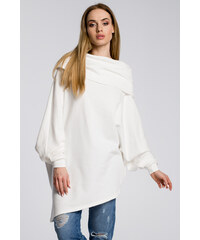 Perfect Asymetrická tunika s kimono rukávy 960846dea9