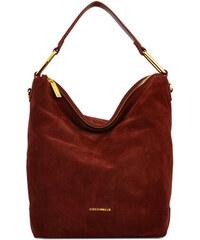 cd38acb215 Coccinelle Luxusní kožená kabelka Liya suede CD1130101R00