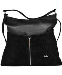 Elegantní černá kabelka značky Seka 14128b d5bff9dffe8