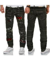b15ff46d8973 KOSMO LUPO nohavice pánske KM183 jeans džínsy